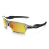Oakley Flak 2.0 Sunglasses Silver/fire