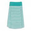 Aventura Catina Hi Low Skirt Bright Aqua Lg