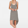 Volcom Into My Web Dress - Womens Blc Lg