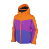 Sunice Girl's Kylie Tech Jacket - Youth Mango/african Violet/grape 8