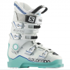 Salomon X Max 90 Ski Boots - Women's Soft Green/white/union Blue 22.0