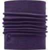 Buff Thermal Wool Neckwarmer Plum Os