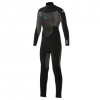 Quicksilver Syncro Boys 4/3mm Back Zip Wetsuit Xkkb - Black/black/blue