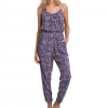 Billabong Drifters Gold Jumpsuit - Women's Blue Cruz Lg