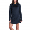 Exofficio Sol Cool Hoody Dress - Women's Black Sm