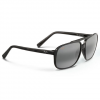 Maui Jim Silversword Sunglasses Black Grey Tort/grey Polar
