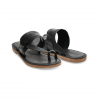 Toms Isabela Sandals - Women's Black Leather 10