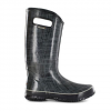 Bogs Linen Rainboots - Womens Black 12.0