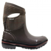 Bogs Prince Of Wales Mid Boots - Womens Chocolate 9