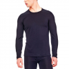 Icebreaker Oasis Long Sleeve Crewe Gritstone Heather/stealth Lg