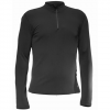 Hot Chillys Micro-Elite Chamois Zip T Black Lg