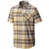 Mountain Hardwear Drummond Short Sleeve Shirt Titanium Md