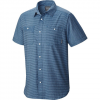 Mountain Hardwear Sadler Short Sleeve Shirt - Men's Thunderhead Grey