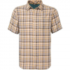 The North Face Bagley S/S Shirt Misted Yellow/clear Lake Blue Md