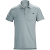 Arcteryx Captive Polo S/S - Mens Fired Clay Xl