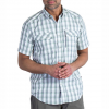 ExOfficio Lodestone Plaid Shirt Road Lg