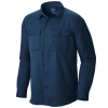 Mountain Hardwear Canyon Long Sleeve Shirt - Men's Hardwear Navy Md