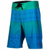 Reef My Name Is Plaid Strip 3 Boardshorts Green 30