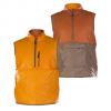 Trew Polar Vestige Vest Rust Orange Xl