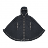Brixton Junie Hooded Poncho - Women's Black One Size