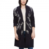 Obey Coven Cardigan Sweater Coat - Womens Navy Md