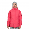 686 Authentic Paradise Insulated Jacket - Women's Fuschia Puzzle Dobby