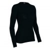 Icebreaker Everyday Long Sleeve Crewe - Women's Vino Md