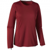 Patagonia Capilene Midweight Crew - Womens Drumfire Red Xs
