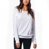 Krochet Kids Lace Long Sleeve - Women's White Lg
