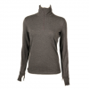 Nils Holly Top - Womens Charcoal Xs