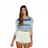 Billabong Fringed Seascape Sweater Indigo Lg