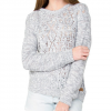 Element After Party Hooded Sweater - Women's Heather Grey Md
