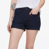 Obey Goldie Jean Shorts - Women's Indigo 30