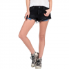 Volcom Stoned Short Rolled Shorts - Women's Worn Black Wash 13