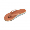 Rainbow Double Layer Classic Leather with Arch Support and Narrow Stra