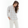 Obey Ditch Plains Button-Down Shirt - Women's Natural Multi Md