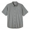 Mountain Khaki Spalding Gingham Short Sleeve Shirt Summer Red Sm