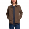 RVCA Gilmore Jacket Dark Chocolate Md