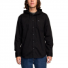 RVCA No Good Long Sleeve Shirt Black Md