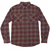 RVCA That'll Work Flannel Long Sleeve Shirt Anw Md