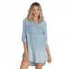Billabong Got The Blues Top - Women's  Chambray Md