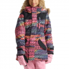 Burton Aubrey Parka Jacket - Girl's Figaro Stripe Xl
