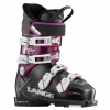Lange RX 110 Ski Boot - Women's Black/purple 25.5