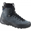 Arc'teryx Bora2 Mid Leather Boot Grey Denim/black 8