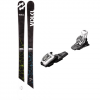 Volkl Wall JR Skis With M4.5 Fastrak Bindings Ea 128