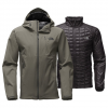 The North Face ThermoBall Triclimate Jacket Tnf Light Grey Heather Lg