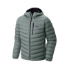 Mountain Hardwear StretchDown(TM) Hooded Jacket Thunderhead Grey Xl
