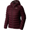 Mountain Hardwear Stretch Hooded Down Jacket - Women's Zinc Lg