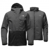 The North Face Garner Triclimate Jacket Asphalt Grey/tnf Black Sm