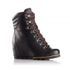Sorel Conquest Wedge Boot - Women's Quarry/black 9.5